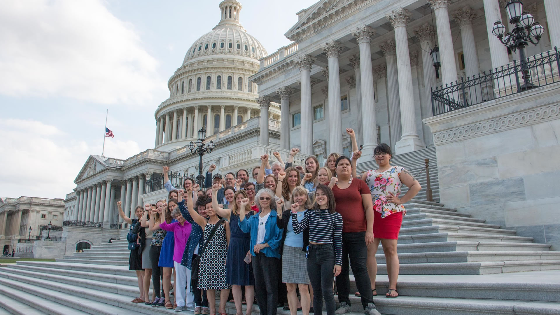 Be the Change: Lobbying Capital Hill